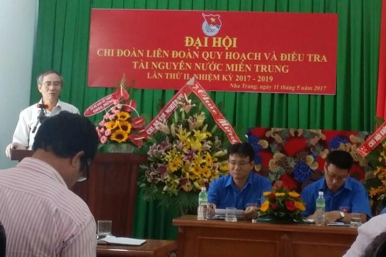 Đại hội Chi đoàn Liên đoàn Quy hoạch và Điều tra tài nguyên nước miền Trung