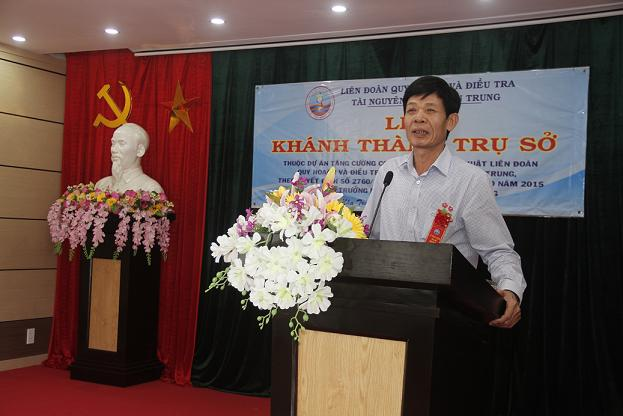 Lễ khánh thành trụ sở làm việc Liên đoàn Quy hoạch và Điều tra tài nguyên nước miền Trung